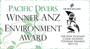 Pacific Divers Environment Award